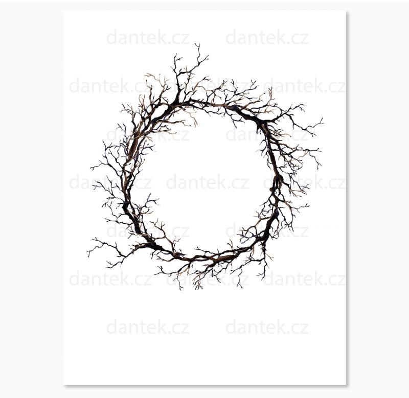 10 malovaný svatební strom pro náhled