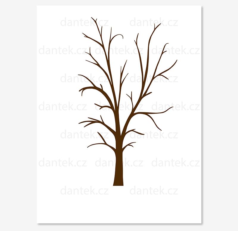 6 hnědý svatební strom pro náhled