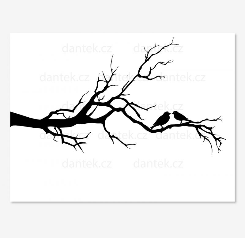 8 černý svatební strom pro náhled