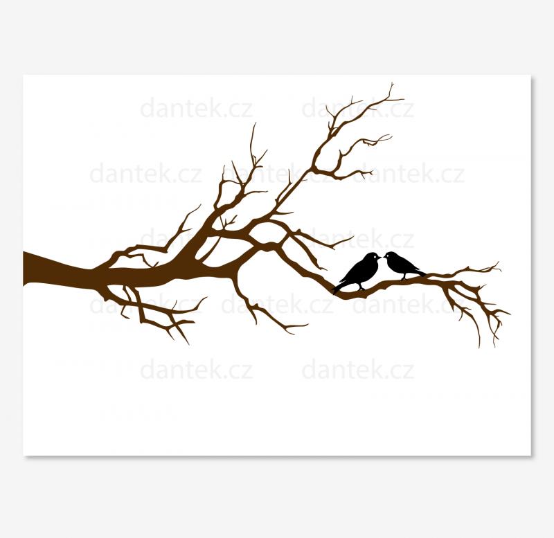 8 hnědý svatební strom pro náhled